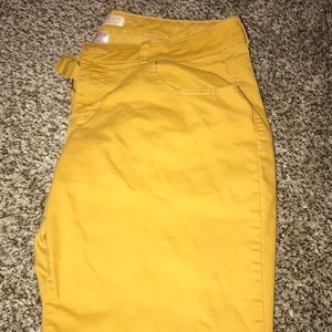 Mustard Colored Pants